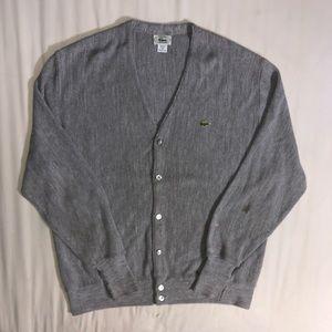 Lacoste Sweaters - Vintage IZOD Lacoste Cardigan